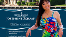 Announcing Josephine Schaaf's Affiliation With Christie's International Real Estate | Florid