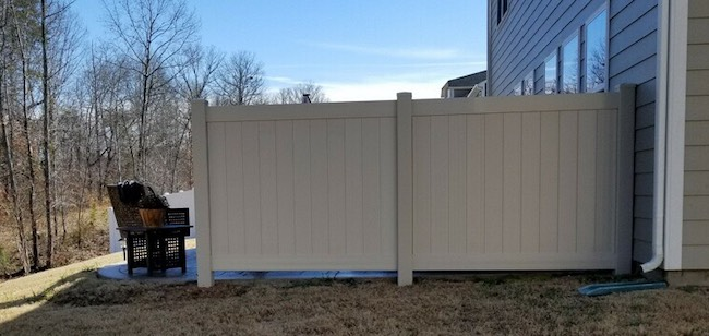 Vinyl Fence Removal