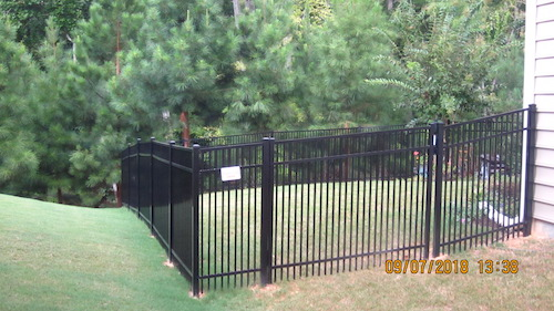 Union County Aluminum Fence