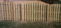 Wood Fence Removal