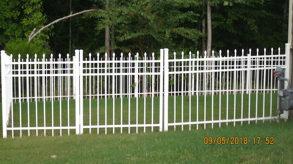 Fort Mill Aluminum Fence