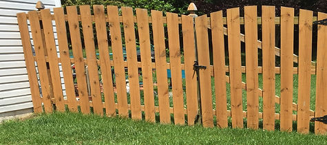 Union County Wood Fence Contractor