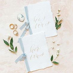 Super cute vows. _#Repost _chicvintagebr