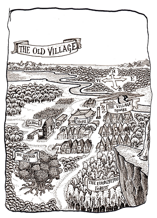 The-Old-Village-Malcolm-Fernandes-Books.com
