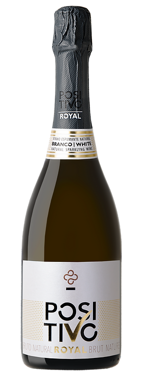 Positivo Royal Espumante Brut Natur Branco 2017