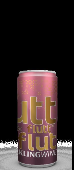 Flutt Espumante Lata Brut Rosé 2020