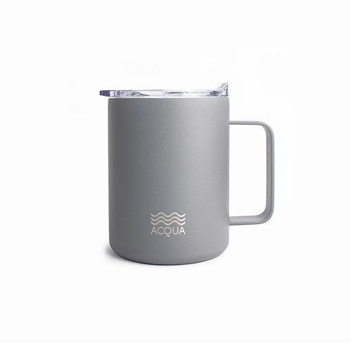 Acqua Mugs 385 ml in Ash Grey