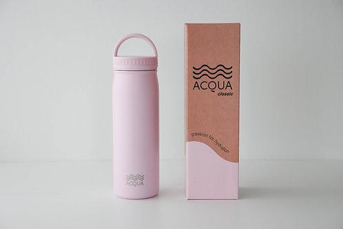 Acqua Bottle Classic 500 ml in Rosepunch Pink