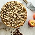 Baked Peach Crumb Pie