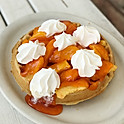 Peach Waffle - Available All Day