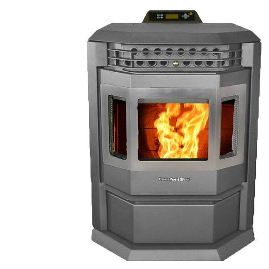 ComfortBilt HP22SS Pellet Stove in Charcoal