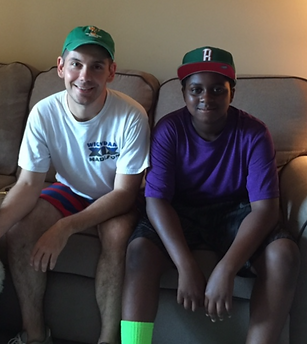 Jimmy and Thomas from Private Tutoring Session with Arise & Shine! Program