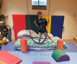 Lukas at Play Pod