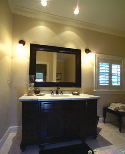 Bath room remodel.