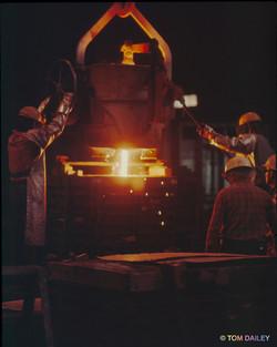 Steel mill. Mountain State Steel.