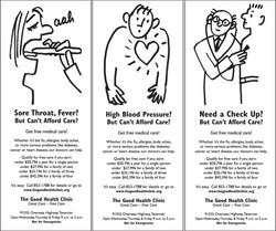 Good health clinic ads.