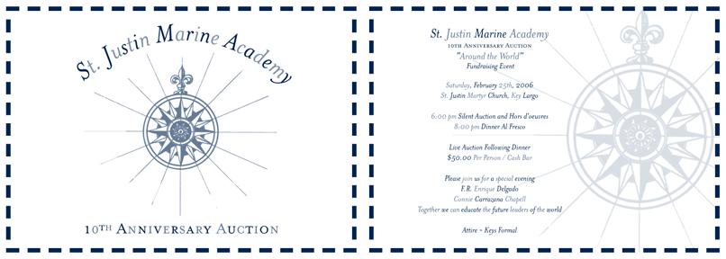 St.justin invite