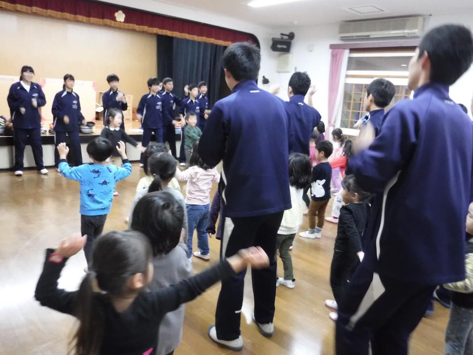 木屋川中学校交流
