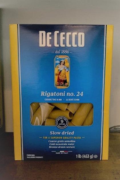De Cecco Rigatoni Pasta