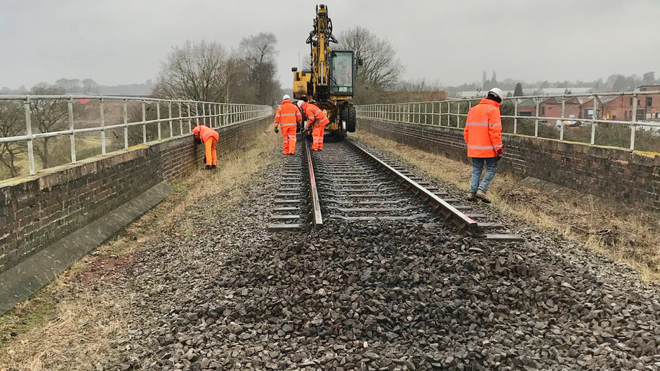 On Site at Falling Sands Viaduct - by Nick Yarwood