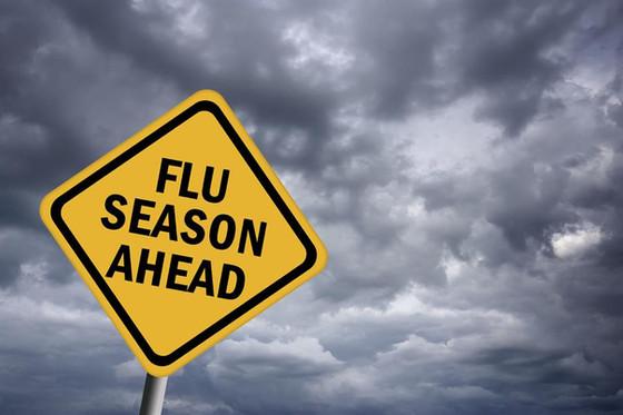 Flu season is here . . . .