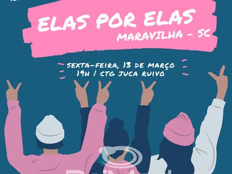 Clínica Raimed de Maravilha, SC, patrocina evento Elas por Elas