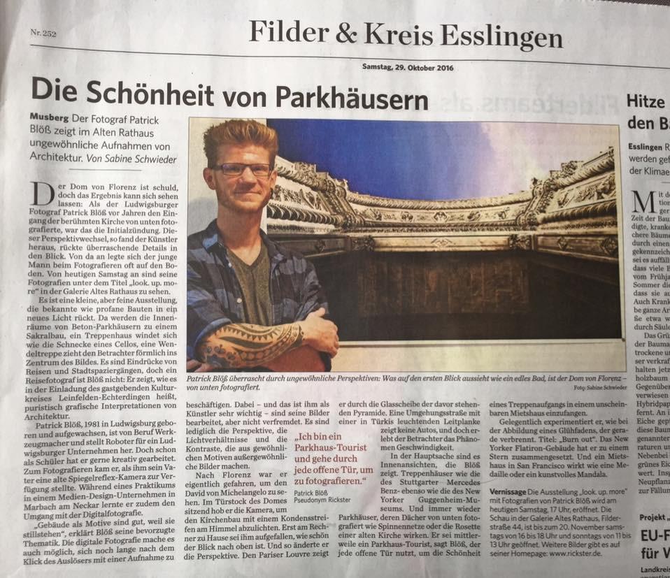 Artikel Stuttgarter Zeitung