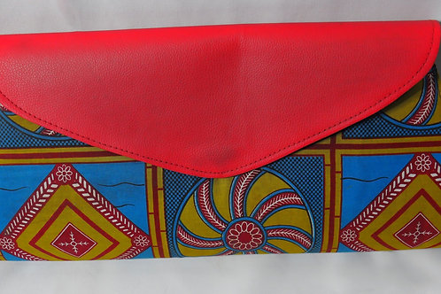 African Diamond Clutch