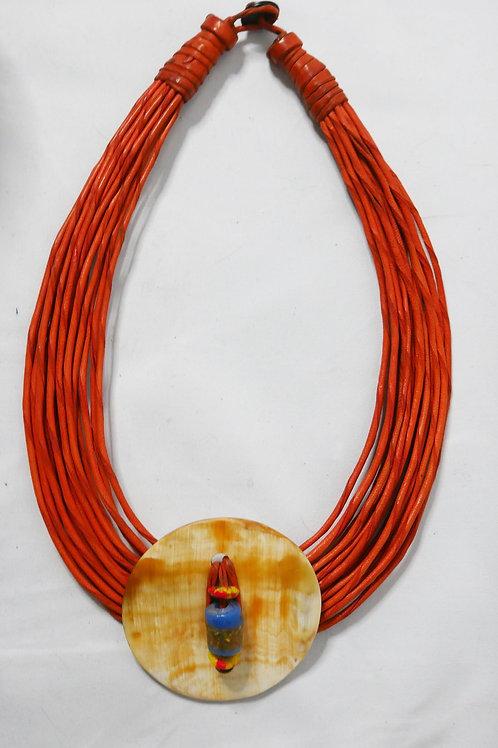 Savannah Leather Necklace