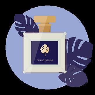 perfume label luxury