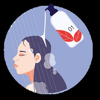 shampoo conditioner packaging shrink sleeve bottle