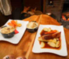 The Shoe Inn Food
