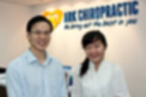 slip disc scoliosis Ark Chiropractic fusionopolis one-north buona vista Testimonial spine corrected posture relief improved quality of life reduce joint muscle pain stiffness increase flexibility neck aches headaches low back pain Dr Joseph Tan
