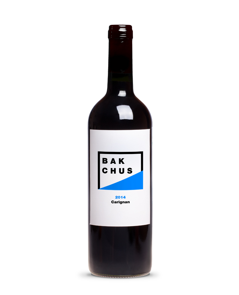 BAK CHUS Red Wine Blue Bottle