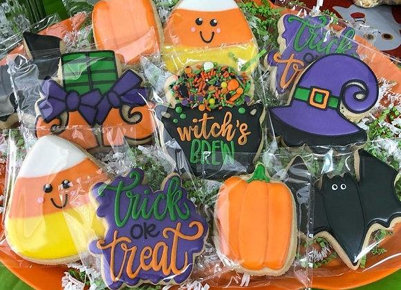Single Halloween Cookies