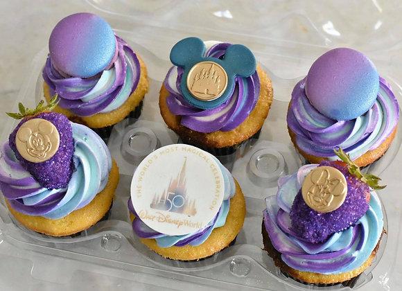 50th Anniversary Cupcakes