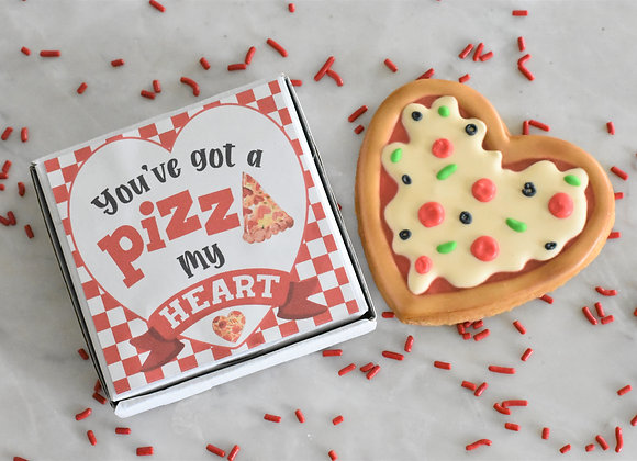 Pizza Heart Cookie