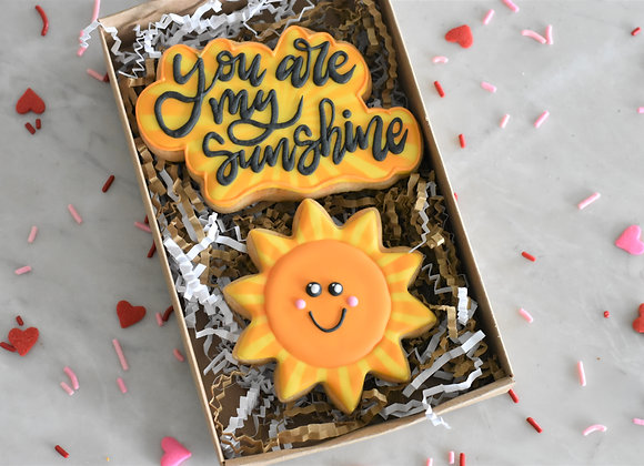 Sunshine Cookie Set