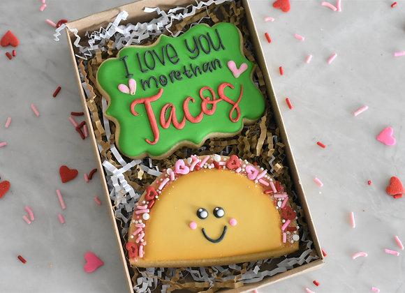 Taco Cookie Set