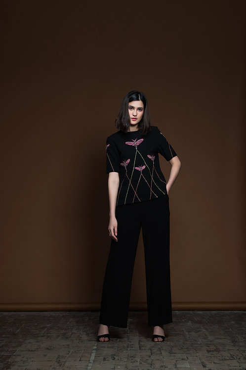 Insect Prism Top With Pants
