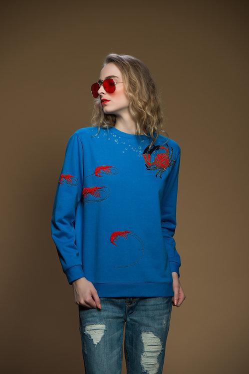 Crabs And Prawns Sweatshirt