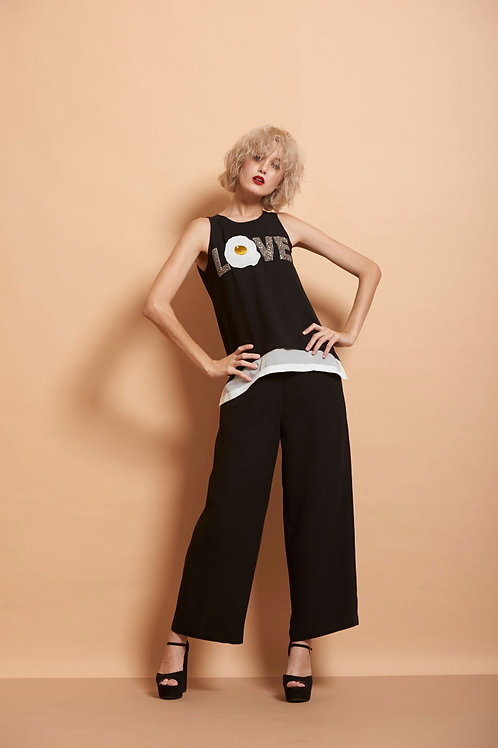 Egg Love Top With Pants