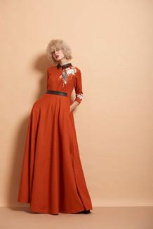 Bird Circular Dress