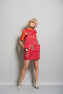 Tic Tac Toe Mini Dress