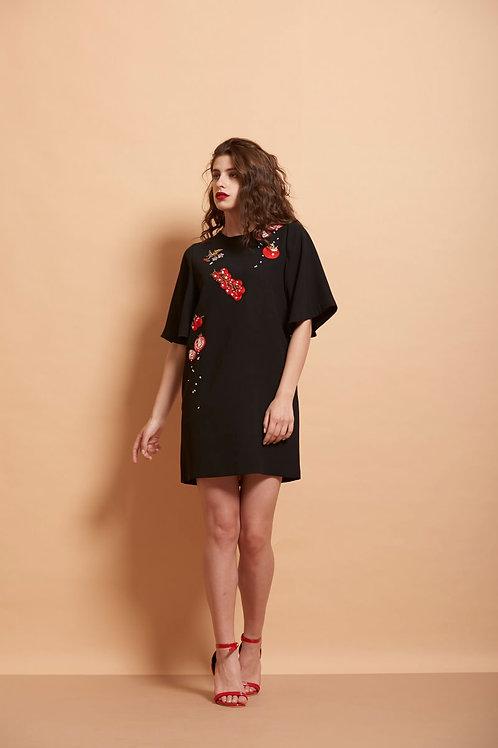 Tomato Short Dress