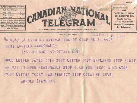 March 31, 1941 Walking in a daze
