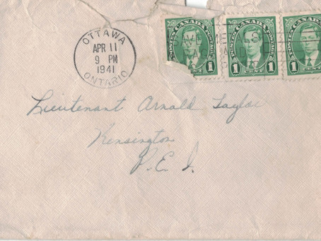 March 4, 1941 Ottawa letter