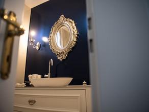 Exklusiver Bad- und Gäste-WC-Umbau im Landhausstil