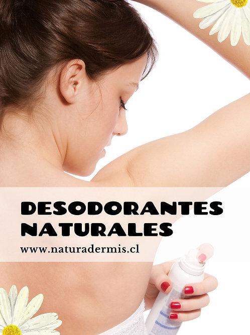 Libro Digital fórmulas de desodorantes naturales