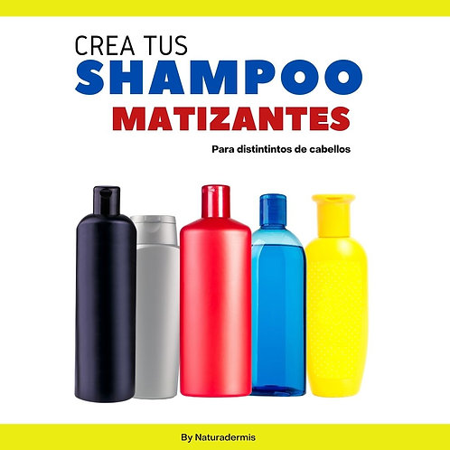 Libro Digital shampoo matizante